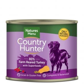 Country Hunter Farm Reared Turkey with Superfoods 600g Tin