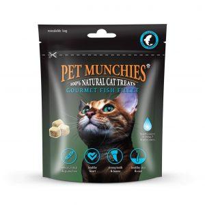 Pet Munchies Fish Fillet Cat Treat 10g