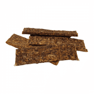 Beef meat strips