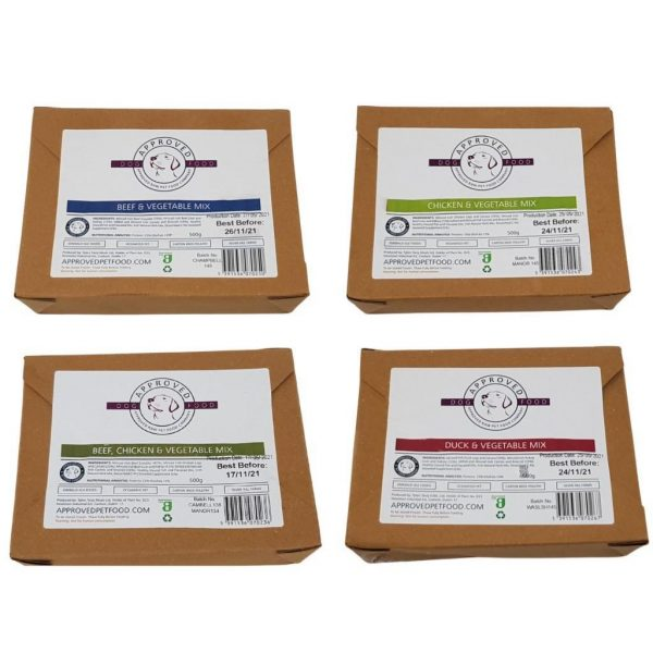 Approved Raw Mixed Boxes