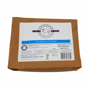 Approved Raw Dog Food Company Salmon and Cod