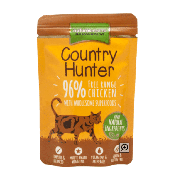 Country Hunter Cat | Free Range Chicken with Superfoods 85g