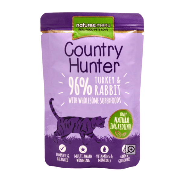 Country Hunter Cat   Turkey & Rabbit with Superfoods 85g