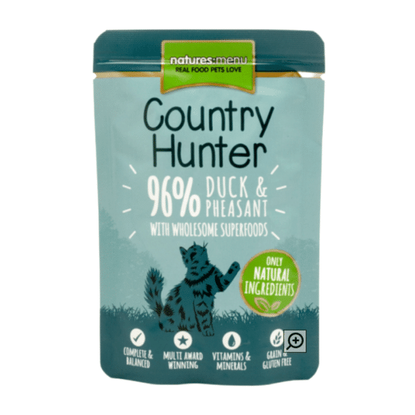 Country Hunter Cat   Duck & Pheasant with Superfoods 85g